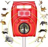 Best Rabbit Repellents - 2021 Solar Ultrasonic in Repellent Defender Rat, Squirrel Review