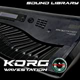 KORG WAVESTATION - Large Original Factory & NEW Created Sound Library/Editors on CD or download