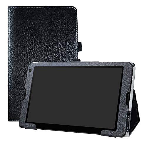 LFDZ Medion Lifetab E10513 Hülle, Schutzhülle mit Hochwertiges PU Leder Tasche Hülle für 10.1