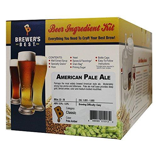 Brewer's Best - Home Brew Beer Ingredient Kit (5 gallon), (American Pale Ale)