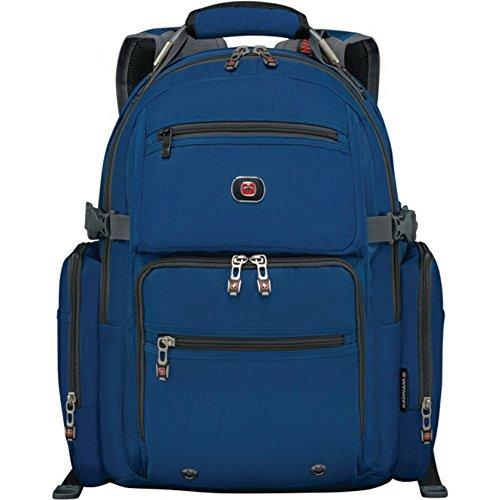 "SwissGear Breaker Backpack with 16"" Laptop Pocket & 10"" Tablet Pocket Blue"