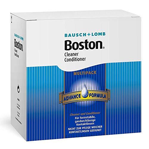 Bausch & Lomb Boston Advance Multipack, 3 x 30 ml Reiniger plus 3 x 120 ml Aufbewahrung, inclusive Behälter - 3