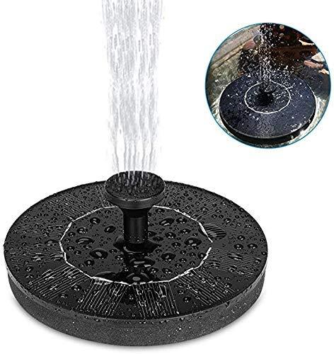 HZWLF Teich Garten Solarbrunnen Pumpe Vogel Bad Ature Schwimmendes Wasser Vogelbad Wasser Freistehend Outdoor Outdoor Tauchpanel Kit Für Pool, Patio
