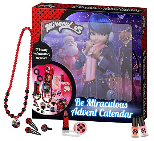 Miraculous Be Miraculous - Advent Calendar - Offizieller Beauty-Adventskalender, 24 Stück, 20991001