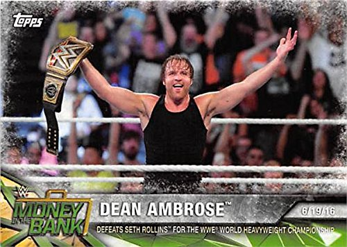dean ambrose trading cards - 9