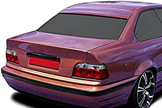 OriginalEuro Roof Extension Rear Window Cover Spoiler Wing Trim ABS for BMW E36 Coupe Euro M M3