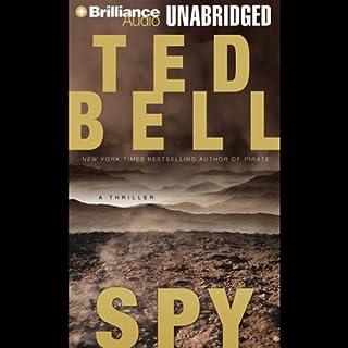 Spy audiobook cover art