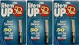 3-Pack LITE'N UP-50 Reusable Cigarette Filter