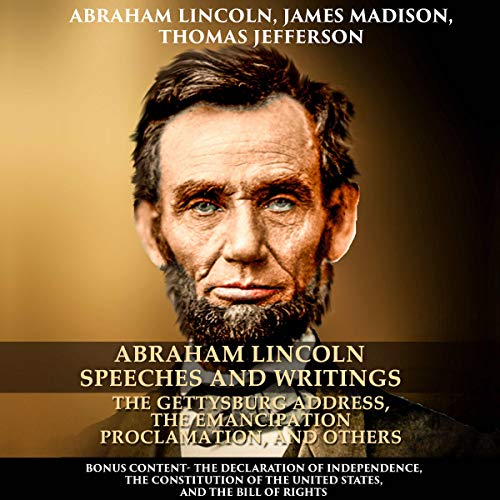 Couverture de Abraham Lincoln Speeches and Writings