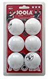 JOOLA Rossi 3-Star Table Tennis Balls – 6 pack - White