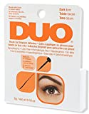 DUO Brush-On Strip Lash Adhesive, Dark Tone, 0.18 oz
