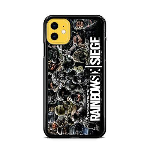 NETOBEEK [Rainbow Six Siege] Phone Case for iPhone 5/5S, Rainbow-Six-Siege-Logo,[NET8428-N2-1220],Handyhülle,Hülle,Coque,Custodia,Carcasa,Cover,Shell,Case