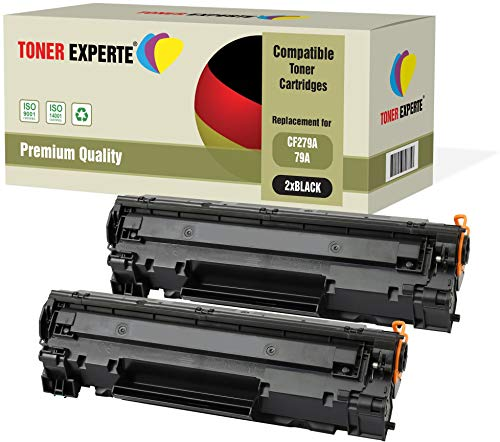 2er-Pack TONER EXPERTE® Premium Toner kompatibel zu CF279A 79A für HP Laserjet Pro MFP M26nw M26a M12 M12a M12w