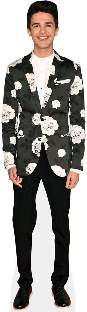 Life Size Cutout Floral Blazer Brent Rivera