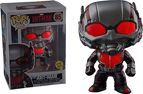 Funko POP! Marvel Ant-Man: Ant-Man Brilla en la oscuridad