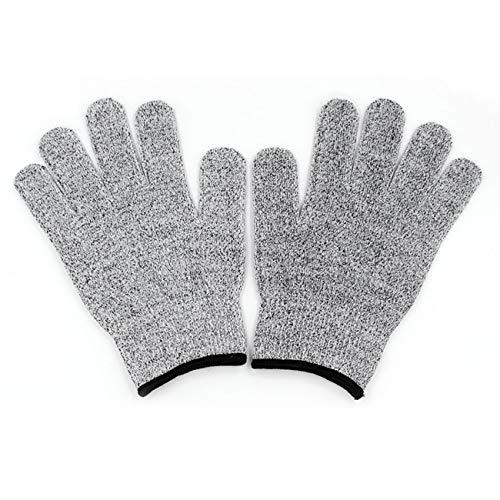 Ashley GAO Un par/juego de guantes de seguridad de uso duradero, resistentes a los cortes y a la abrasión, nivel 5, guantes anticortes