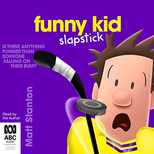 Funny Kid Slapstick audiobook cover art