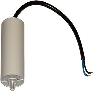 Condensatore di avviamento permanente di lavoro per motore 14/µF 450V con cavo 20cm C10191 Aerzetix