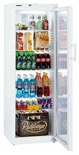 Liebherr FKv 4143 Kühlschrank, freistehend, Weiß, 5 Regale, rechts, R600a, 388 l