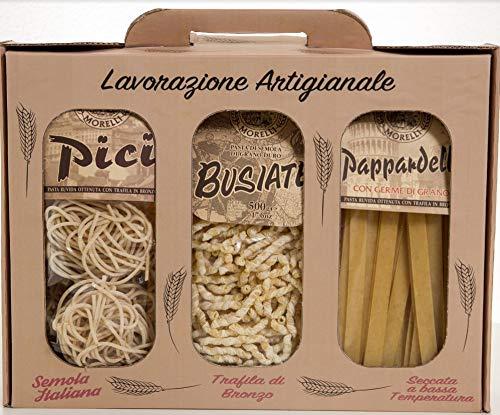 Morelli - Pasta Speciale Formati Regionali 3x17.6 Oz (3x500gr)