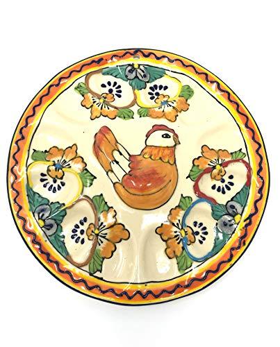 Mexican Talavera Deviled Egg Tray by Mexican Talavera Pottery