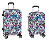 Set Safta de Trolleys Cambina 20 y 24 con Ruedas giratorias de Moos, Color Corgi