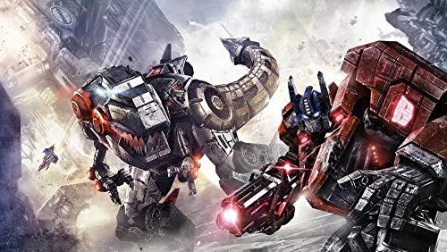 Transformers Fall Of Cybertron 5D Diy Pintura Diamante Taladro Completo Kit De Punto De Cruz Diamante Kits De Pintura Para Adultos Rhinestone Bordado Diamante Arte - 40 X 50Cm