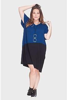 Vestido Diagonal Plus Size