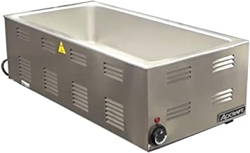 Adcraft FW-1500W 4/3-Size Countertop Food Warmer, Stainless Steel, 120v, NSF