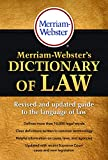 Image of Merriam-Webster's Dictionary of Law, Newest Edition, Trade Paperback