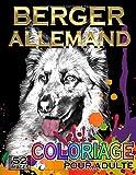 Berger Allemand Coloriage Pour Adulte: 52 super images réelles de Chiens...