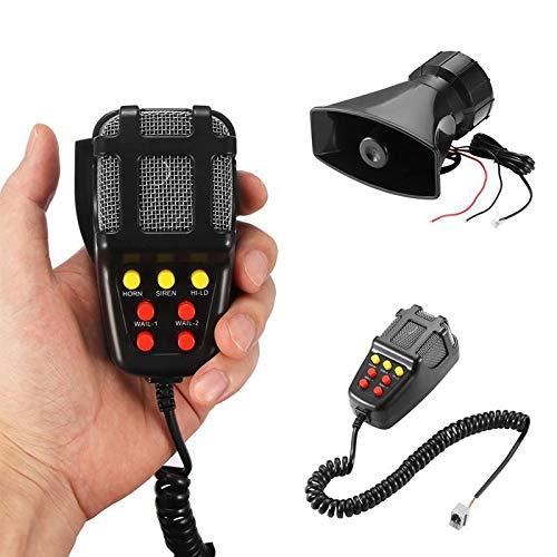 SHIJING Peter Sound im Auto für die Autohupen Beschallungs-Lautsprecher-Mikrofon, Verstärker 12V 100W