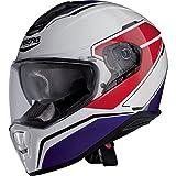 Caberg Drift Tour Bianco / Rosso / Blu casco del motociclo