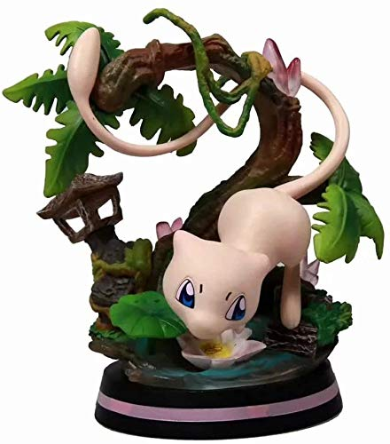 Best gift Pokémon Charmeleon/Wartortle/Mewtwo PVC Anime Cartoon Game Character Model Statue Figure Toy Collectibles Decorations Gifts Favorite by Anime Fan (Color : C),Color:A The best gift for anime image