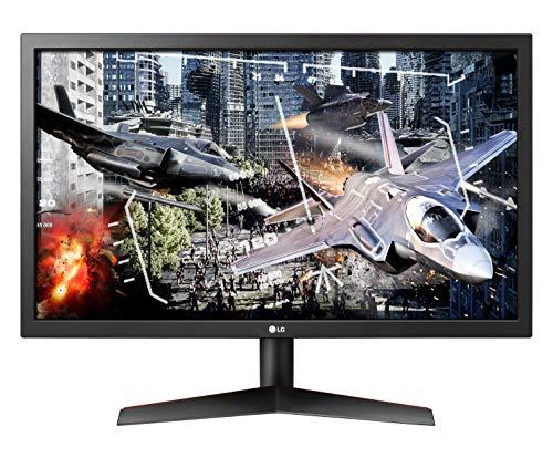 "LG 24GL600F UltraGear Monitor Gaming 23.6"" Full HD LED, 1920 x 1080, 1ms, Radeon FreeSync 144Hz, 2x HDMI, 1x Display Port, Uscita Audio, Multitasking"