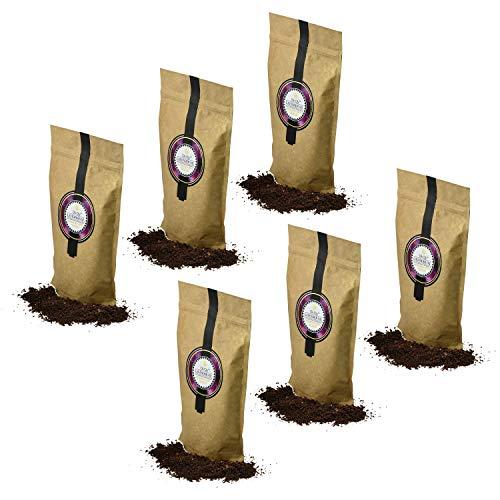 Oli-Oly Scrub Esfoliante al Caffè con Olio di Lavanda per Pelle Viso e Corpo   Ingredienti Naturali - Per Tutti i Tipi di Pelle - Lavanda di Kashmir - 600 g