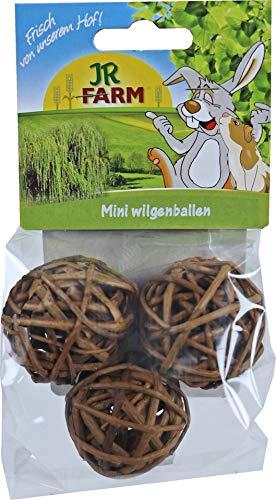 Mr. Woodfield Mini Weiden-Spielball  Einzelfuttermittel für Zwergkaninchen, Meerschweinchen, Ratten, Hamster, Mäuse, Chinchillas und Degus.