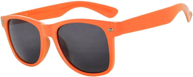 Kids Orange Polarized Smoke Lens Sunglasses Protect Child's Eyes