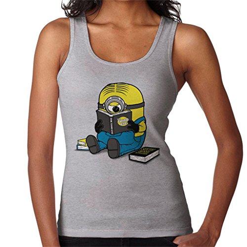 Cloud City 7 One Eyed Bookworm Minions Women's Vest