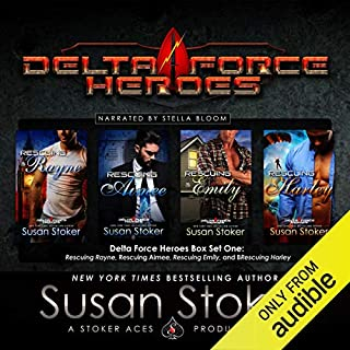 Delta Force Heroes, Box Set One audiobook cover art