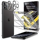 EGV Verre Trempé pour IPhone 11 Pro Max (6.7'') Film Protection Écran et Caméra Arrière...