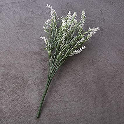 or Party Decoration Wedding Realistic Looking Artificial Lavender Floral Bundle Fresh Look Lavender Flower for Home