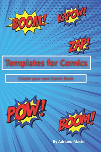 Template for Comics: Create your own comic book