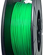 Tråd3D 1.75mm PLA 3D Printer Filament for WOL 3D Bazaar Creality Ender 3 3D Printer Aluminium DIY with Resume Print (Green)