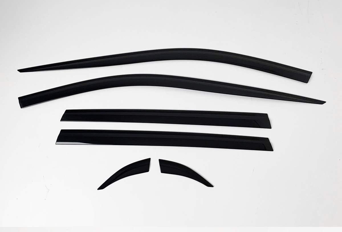 AUTOCLOVER Smoked Window Visor Sun Vent Ranking TOP7 Compatible Soldering Guard Rain 6p