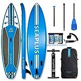 """Paddle Surf Hinchable Tabla Stand Up Paddle Board Rígida Doble Capa con Accesorios de Remo de Carbono/Inflador/Leash/Mochila, Carga hasta 140 Kg, Legend 10'6""""*32""""*6"""""""