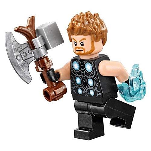 LEGO Minifigura de Guerra Infinita de los Vengadores - Thor (con martillo rompetormentas) 2018