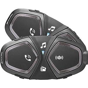 INTERPHONE cellularline ACTIVE - Interfono Moto Bluetooth - Pilota Pilota 1Km - Doppio