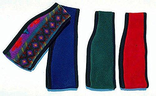 Amesbichler Hoofdband/oorwarmer van fleece, voor volwassenen, kleur: bont