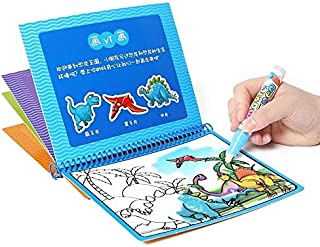 Magic Water Drawing Book Coloring Book Doodle with Magic Pen Painting Toy Drawing Board